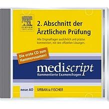 Mediscript Hammerexamen CD-ROM 3/06: GK2 und GK3 3/01 - 3/06