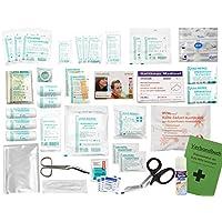 Komplett-Set Erste-Hilfe DIN 13157 EN 13 157 PLUS 3 für Betriebe mit Sprühpflaster, Notfallbeatmungshilfe & Verbandbuch... preisvergleich bei billige-tabletten.eu