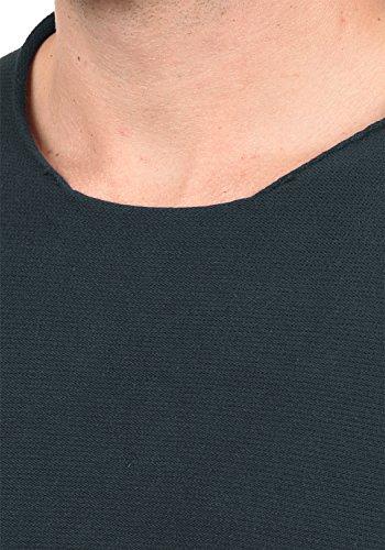 BLEND Gabor Herren Strickpullover Feinstrick Pulli mit Rundhals-Ausschnitt aus 100% Baumwolle Navy (70230)