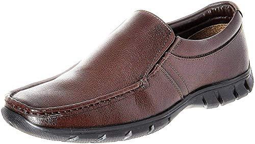 BATA Men's Remo Brown Formal Shoes - 7 UK/India (41 EU)(8514583)