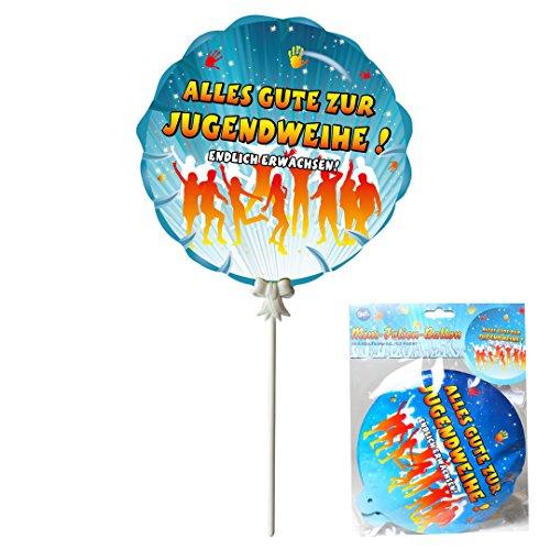 """Luft Ballon selbstaufblasend kaufen – Deko Geschenk Ballon """"Jugendweihe"""", 3-tlg., selbstaufblasend  Luft Ballon selbstaufblasend kaufen – Deko Geschenk Ballon """"Jugendweihe"""", 3-tlg., selbstaufblasend 51MpALJTDgL"""