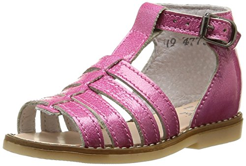 Little Mary Holiday, Chaussures Premiers pas bébé fille Rose (Apache Passion)