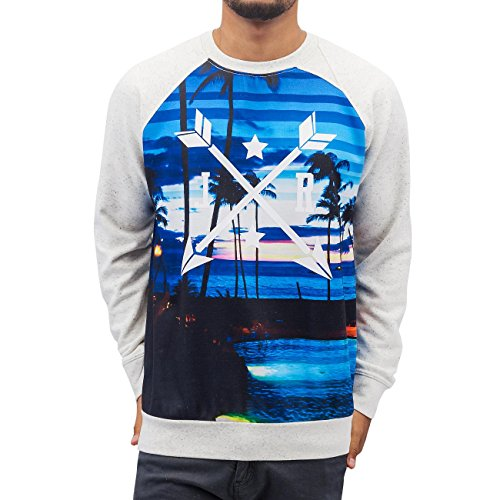 Just Rhyse Homme Hauts / Pullover Beach Gris