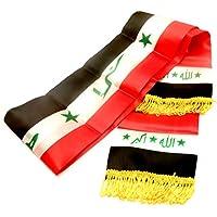 Unisex nationale Flagge Schal arabischen Shemagh Wüste Tactical Mode wickeln Keffieh Hatta