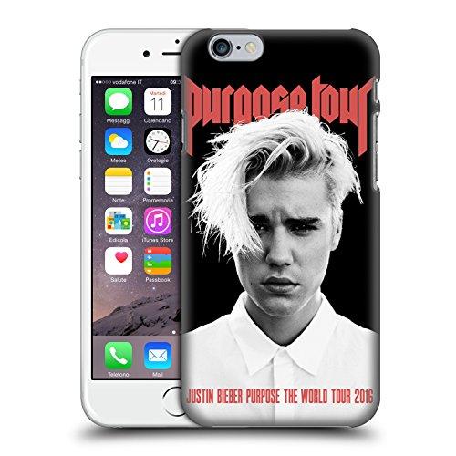Offizielle Justin Bieber Purpose Poster Tour Merchandise Ruckseite Hülle für iPhone 6 / iPhone 6s