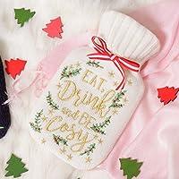 Neuheit Weihnachts-Wärmflasche mit Strick Weihnachts kuschelige Fantastisches Geschenk zu Stay Warm dieses Winter... preisvergleich bei billige-tabletten.eu