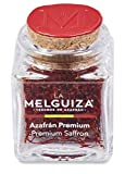 Zafferano premium in pistilli con Denominazione di origine La Mancha (Spagna) in Vasetto di vetro (2 GR)