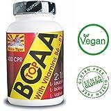 BCAA 300 Comprimés - 315 grammes. La valine, l'isoleucine, la leucine. proportion de 2:1:1 enrichie en vitamine...