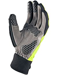 Sealskinz Men's All Weather Cycle Gloves - Hi Vis Yellow, Small