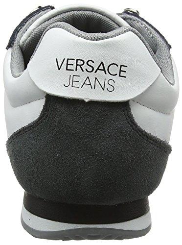 Versace Herren Ee0yrbsa1_e70013 Sneaker Multicolore (Nero/Bianco Ottico)
