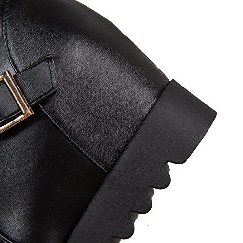 Coscia Pizzo Elegante Scarpe L'inverno Le Uh Nero Con Tacco Per Donne Pelliccia Ed Alto 2017 Compensses fgSwxHwq