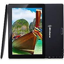 [3 artículos de bonificación] Simbans TangoTab tableta de 10 pulgadas 2 GB de RAM y 32 GB de disco Android 7.0 tableta de turrón pantalla IPS de 10.1 pulgadas, Quad Core, HDMI, Tablet PC, cámara de 2 + 5 MP, GPS, WiFi, USB, Bluetooth