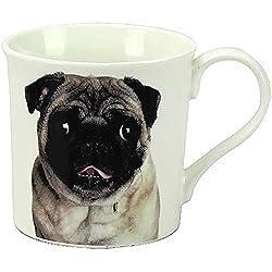 Pug mejor perro China taza gran regalo para cualquier propietario de perro