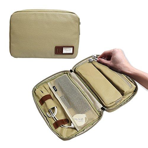 Reise-elektronische Zubehör-Organisator-Wasserdichte Handkoffer-Tasche für Telefon, Kopfhörer-Draht, USB-Blitz-Antrieb, Stecker, Energie-Bänke und mehr (Blitz-antrieb Telefon)