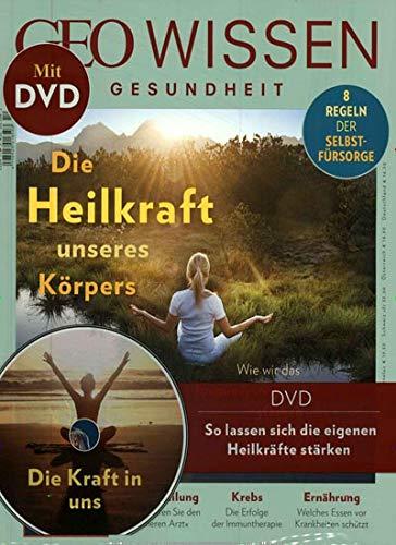 GEO Wissen Gesundheit mit DVD 10/2019