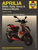 Aprilia Sr50, Rally, Sonic & Habana/Mojito Scooters (93-09)
