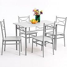 Amazonfr Table Et Chaise Salle A Manger
