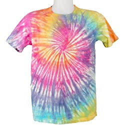 Tie Dye Rainbow Spiral 701562 Kids T-Shirt 11 to 12 Years