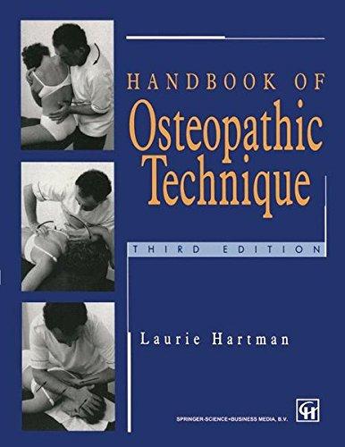Handbook of Osteopathic Technique por Laurie S. Hartman
