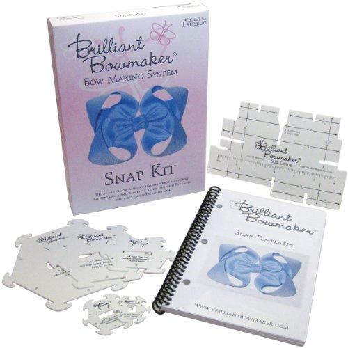 Little Pink Marienkäfer 0103Brilliant Schleife Maker Snap Kit, -