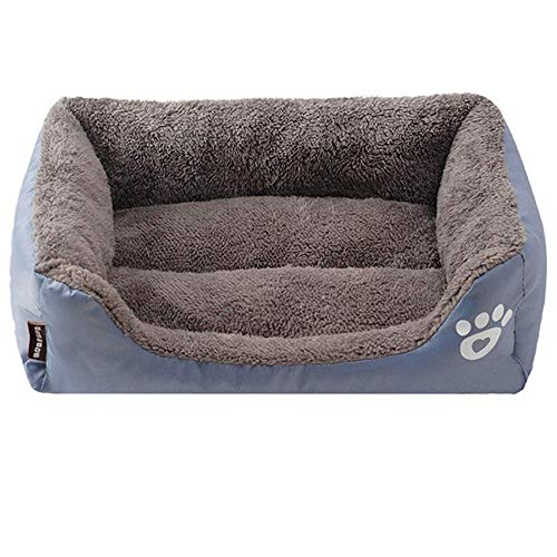 RuiHuangDog Beds Paw Pattren Pet Sofa Mat Dog Bed