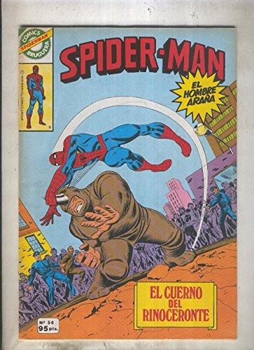 Comics Bruguera: Spiderman numero 54 (numerado 1 en trasera)