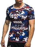 LEIF NELSON EM Fanshirt 2016 EM Fanshirts Fan T-Shirt Shirt Deutschland Frankreich Italien Portugal Spanien Tÿrkei Camouflage