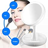 Celebration My Fold Away Two Sided Led Light Professional Care Mirror Mirror