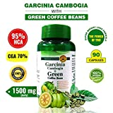 ARG Garcinia Cambogia with 95% HCA, CGA 70% & Green Coffee Extract |