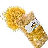 City Wax Rio Premium Wachs 1 kg - Wachsperlen - Wax Beans - Wachsbohnen zur professionellen Haarentfernung ohne Vliesstreifen ab 3 mm Haarlänge - Brazilian Waxing