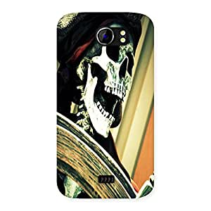 Ashro G Zombie Smile Back Case Cover for Micromax Canvas 2 A110
