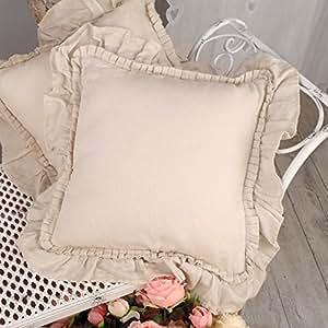 Cuscino arredo shabby chic blanc mariclo 40 x 40 colore for Arredo casa amazon