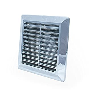 Chrome Ducting Ventilation Cover 125mm / 5