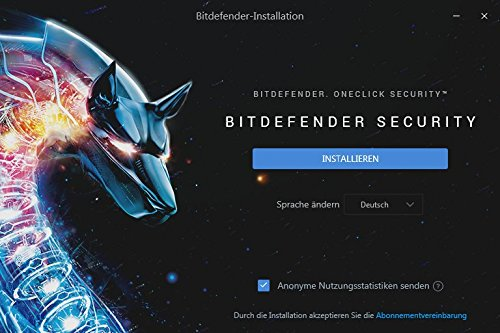Bitdefender Total Security Multi Device 2018 – 10 Geräte | 1 Jahr / 365 Tage (MAC, Windows, Android & iOS) - Aktivierungscode - 3