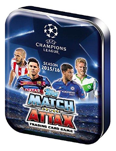 Topps Match Attax - CL 2015/16 - Mini Tin - UK-Version - Champions League -