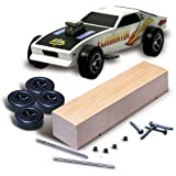 Woodland Scenics Pine Derby Car Kit, Multi-Colour, 18.41 x 5.71 x 3.81 cm