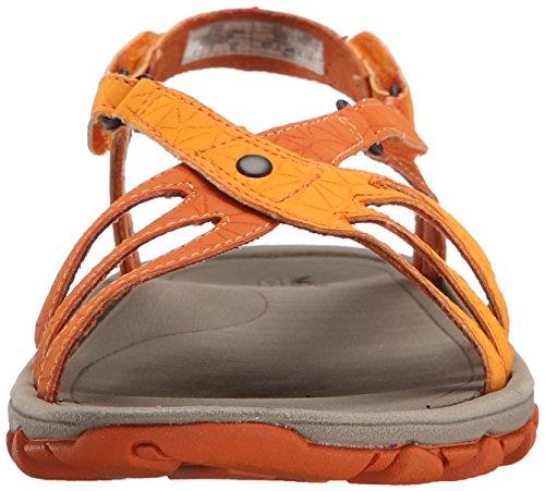 Merrell Enoki Link, Sandali Donna Arancione (Arancio (arancione))