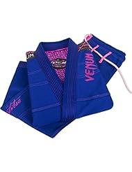 Venum Mujer Kimono Challenger 2.0BJJ GI, de la UE Venum, todo el año, mujer, color azul real, tamaño F1