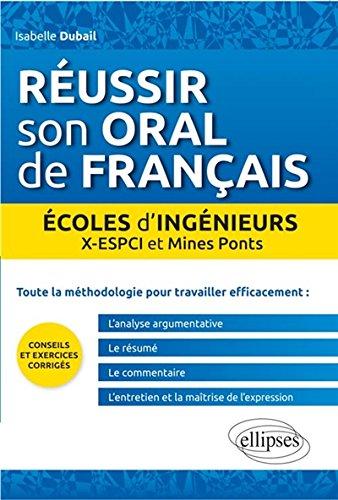 Réussir Son Oral de Français Écoles d...
