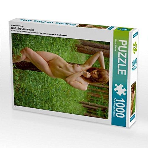 Ein Motiv aus dem Kalender Nackt im Grunewald 1000 Teile Puzzle hoch (CALVENDO Menschen)