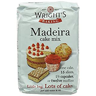 Wright's Baking Madeira Cake Mix 500 g (Pack of 1, Total 5)