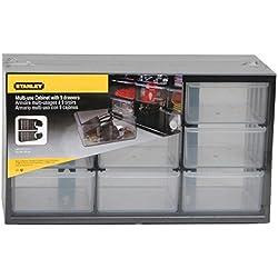 Stanley 1-93-978 Casier de Rangement avec 9 Compartiments