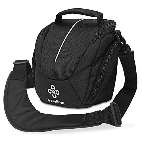 Kameratasche für Deine System- oder Hybrid-Kamera I Schulter-Tasche für DSRL oder Camcorder I Gepolsterte Universaltasche I Hochwertige Fototasche