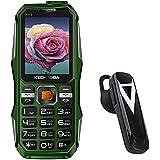 Raptas K112 Triple Sim Keypad Mobile Phone With Inbuilt Powerbank/Dynamic Look/Dual Camera/FM/Call Recording And Stereo Bluetooth Wireless Headset