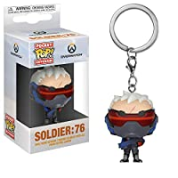 Pop Keychain: Overwatch - Soldier 76