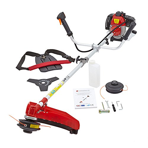 NEW TRUESHOPPING® 33CC PROFESSIONAL PETROL GRASS TRIMMER BRUSHCUTTER 0.9KW 1.2HP