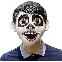 Halloween Máscara De Látex Sueños Viaje Coco Little Boy Diablo Sombrero Estilo De Película ...