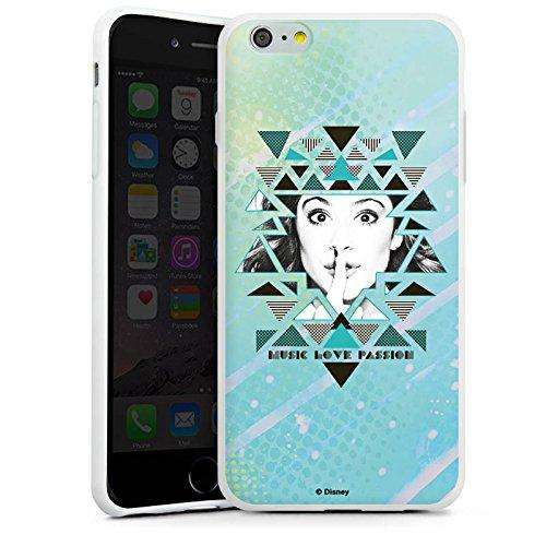 Apple iPhone X Silikon Hülle Case Schutzhülle Disney Violetta Fanartikel Merchandise Silikon Case weiß