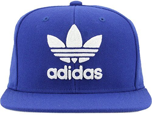 adidas Herren Originals Trefoil Kette Snapback Cap, Herren, Collegiate Royal Blue/White