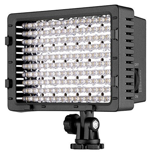 Neewer® CN-216 216PCS Video Light Pannello LED da Potenza Ultra Alta Regolabile per Fotocamera Digitale / Videocamera, LED Light per Fotocamera Digitale SLR Canon, Nikon, Pentax, Panasonic, Sony, Samsung e Olympus